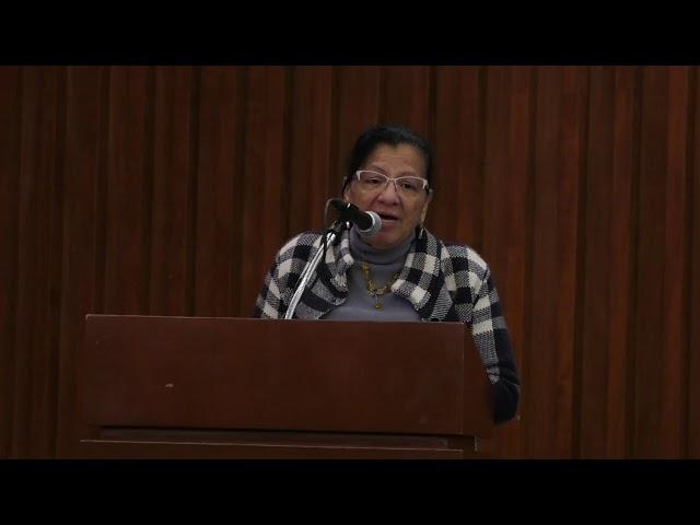 Discurso de la Presidenta de CDHCM, Nashieli Ramírez, en inauguración del 4to Congreso Egresados