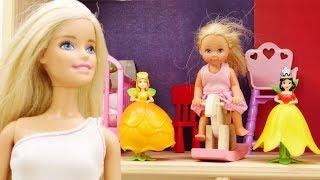 Видео для девочек про Барби! Ремонт в детской Штеффи