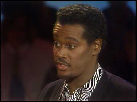American Bandstand 1987- Interview Luther Vandross