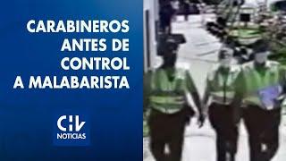 Revelan imágenes exclusivas de carabineros previo al control de malabarista baleado en Panguipulli
