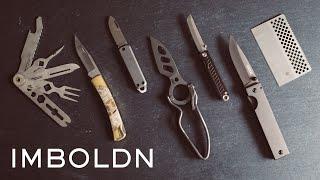 포켓 나이프, 하나쯤 가지고 있어야 할 신사의 필수품?