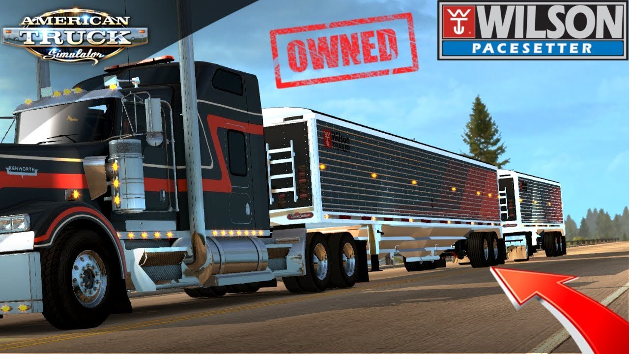 WILSON PACESETTER OWNED TRAILER REVIEW - (American Truck Simulator)