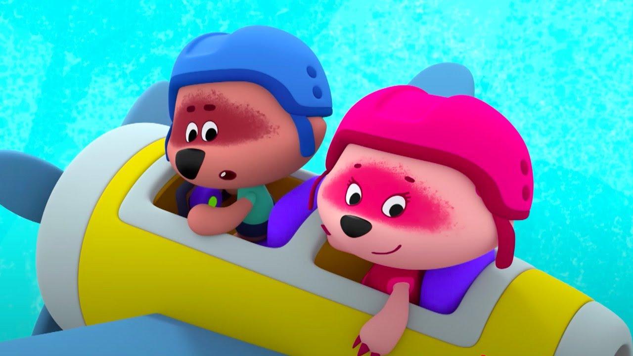 Мимимишки 🐻  Новые серии — Ура Каникулы! 💚  Мультик для детей