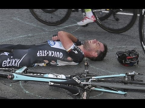 Mark Cavendish ruled out of Tour de France after failing to recover from crash on stage one
