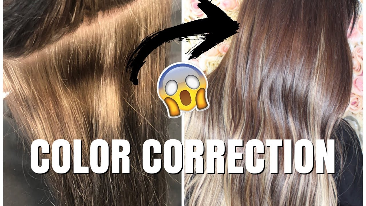 Color Correction Lifting Out Level 3 Hair Color Youtube