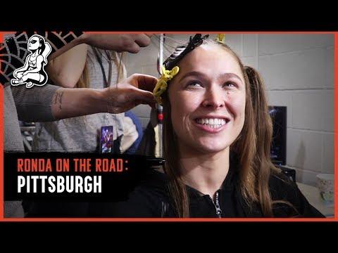 Ronda On The Road   WWE RAW Pittsburgh