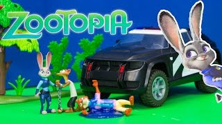 ZOOTOPIA  Officer Judy's Police Cruiser Toys Video thumbnail