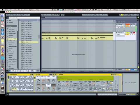 A Nice Way to Make Drum Loops in Ableton