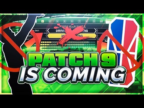 PATCH 9 IS COMING... NO SPEED BOOSTING, BANNED ARCHETYPE BUILDS, & DRIBBLE MOVES! RIP NBA 2K LEAGUE