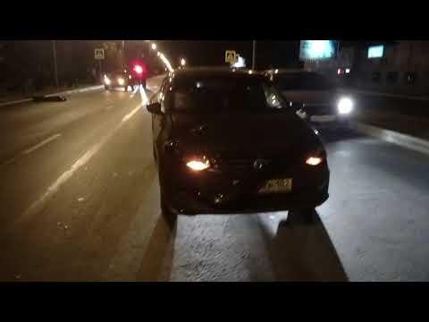 20180926_2205  Сбили пешехода. Смерть на пешеходном переходе. Нефтекамск. Номер авто закрыт