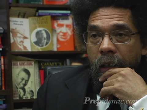 Cornel West - On His Uniform