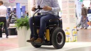 Segway Per Disabili Going La Carrozzina Elettrica Autobilanciante Youtube