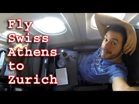 Fly Swiss | Athens to Zurich