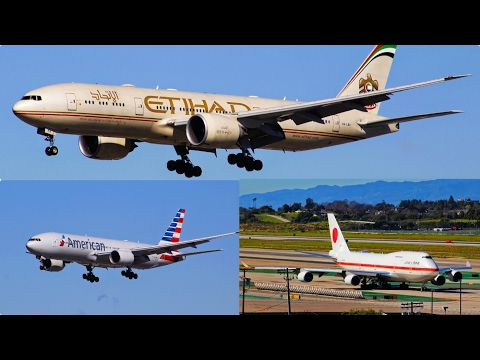 Lots of Heavies! Planespotting at Los Angeles International Airport