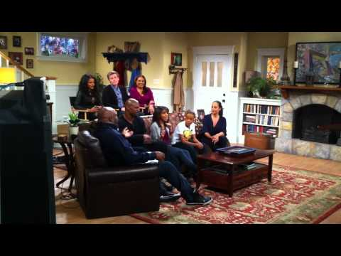 Cast of Are We There Yet Live  Chat Terry Crews, Teala Dunn, Thelma Hopkins, John Gray