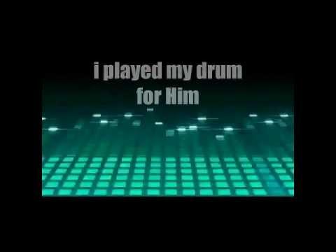 Little Drummer Boy (Tobymac) with lyrics - Christmas song