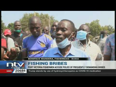 Fishermen in Budalangi protest police interference in their trade and demanding of bribes