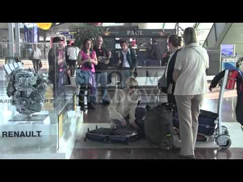 EXCLUSIVE: Sarah Gadon at the airport  leaving Cannes and the 2014 Cannes Film Festival