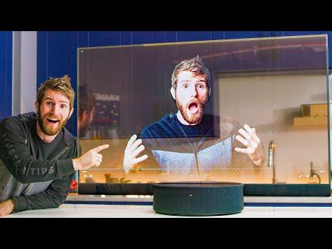 I bought a TRANSPARENT TV for $7000 :*(