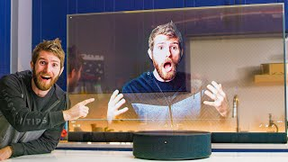 I bought a TRANSPARENT TV for $7000 :*(