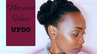 Natural Hair Undo For Short Hair | Styling Tips on 4C Hair | African Blogger