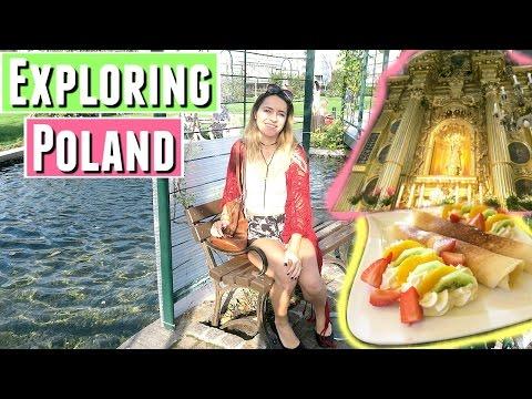 WALK WITH ME AROUND POLAND   TRAVELING RZESZOW, POLAND