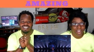 """Angelica Hale Sings Incredible """"Clarity"""" Cover - America's Got Talent 2017   COUPLES REACTIONS"""