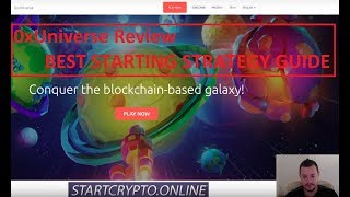 0xUniverse ETH Blockchain Game Review and Best Start Strategy