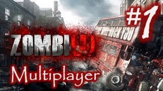 ZombiU Multiplayer Part 1 Gameplay - Killing Box on Rooftops - Wii U (1080p HD)