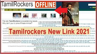 TamilRockers New website Link 2021 | TR New | How to Open tamilrocker offline | karnan | HD |4k link