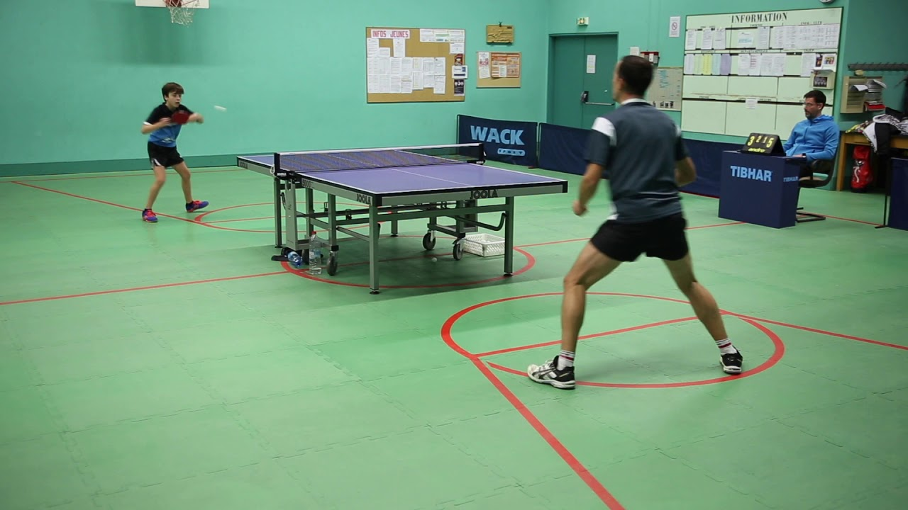 Wack Sport Tennis De Table Tennis De Table Régis Roman Match D Entrainement Fin 2018