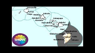 Hawaii volcano eruption: Ash cloud route MAPPED - plume to travel NORTH