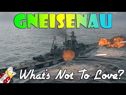 World of Warships - Gneisenau - What's Not to Love?