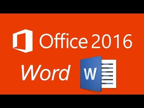 Office 2016   word tutoriol 6 - تعلم أوفيس 2016 وورد