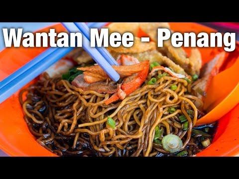 Penang Wantan Mee at Lebuh Acheh Wantan Mee