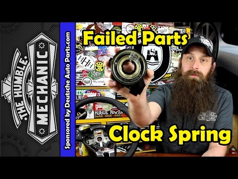 How The VW Clock Spring Fails