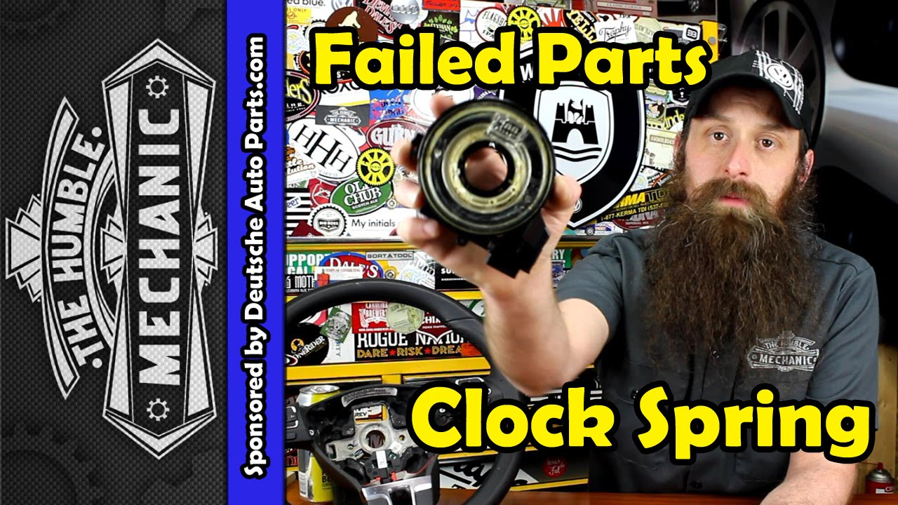 How The Vw Clock Spring Fails Youtube Polo Wiring Diagram 2008