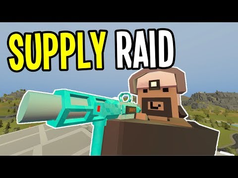 Unturned – Finding the SUPPLY RAID Stashes!! – Greece Map Modded Survival – Ep. 27