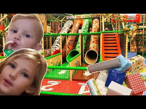 Toy Hunting At Indoor Playground With Toys