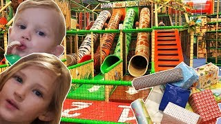 """Toy Hunting at Indoor Playground with Toys""""R""""Us Toys"""