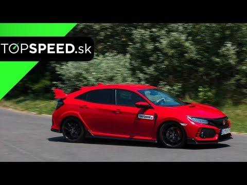 Honda Civic Type R 10G Test - Maroš ČABÁK TOPSPEED.sk