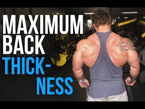 Building Maximum Back Thickness