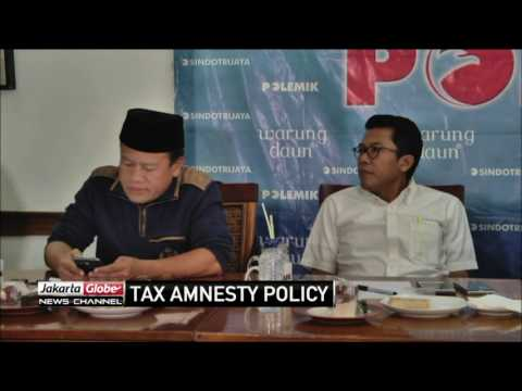 Govt Adviced To Implement Supporting Policies For Tax Amnesty Program