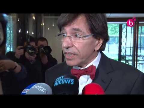 Interview d'Elio Di Rupo après son entrevue avec Bart De Wever
