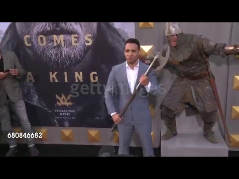 May 8th, 2017  Victor Rasuk at the 'King Arthur: Legend of the Sword' Premiere