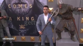 May 8th, 2017 - Victor Rasuk at the 'King Arthur: Legend of the Sword' Premiere