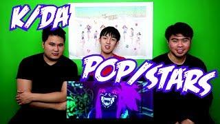 K/DA - POP/STARS FT MADISON BEER, (G)I-DLE, JAIRA BURNS MV REACTION (FUNNY FANBOYS)