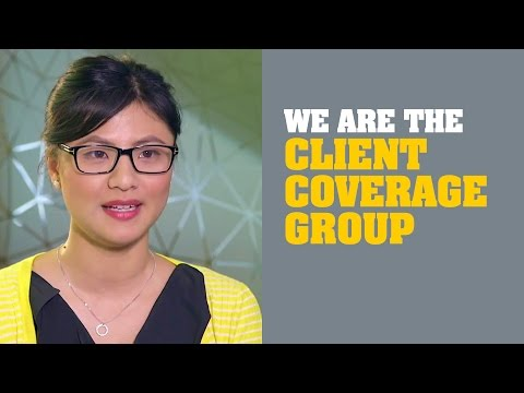 We are the Client Coverage Group