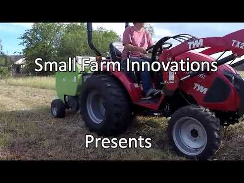 Mini Hay Baler From Small Farm Innovations