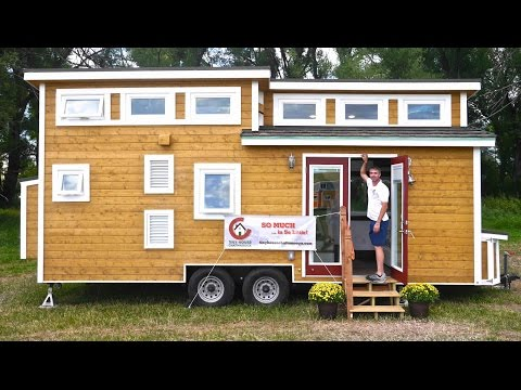 Tiny LUXURY House- All Off-Grid! 'Tiny House Chattanooga'!